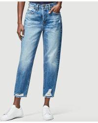 FRAME Jeans Le Pegged - Bleu