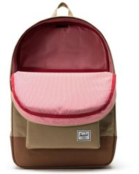 Herschel Supply Co. Sac à dos Heritage Kelp and Saddle Brown 10007-02455 - Multicolore