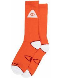 Poler Stuff Cyclops Icon Socks Standford - Orange