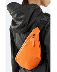 Rains Fire Orange Bum Bag