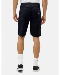 Dickies Pantaloncini da carpentiere da uomo neri Fairdale - Nero