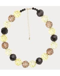 Stine Goya Pepper Necklace Yellow - Multicolor