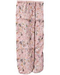 Becksöndergaard Dusty Rose Lace Lunetta Socks - Pink