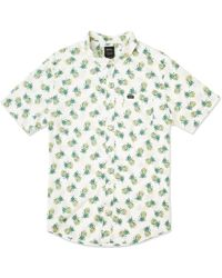 RVCA Anp Pack Button Up Camisa - Multicolor