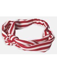Becksöndergaard Fiery Red Striped Hairband