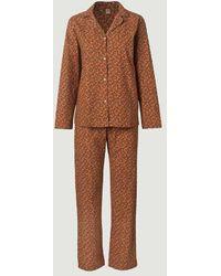 Becksöndergaard Conjunto de pijama Aiyana - Marrón