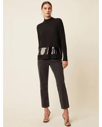 Great Plains Richmond Sequin Knit - Black