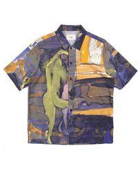 Folk Gabe Printed Vacation Shirt - Multicolour