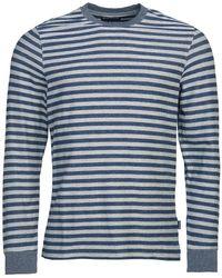 Barbour Radar L/s T-shirt Dark Denim - Blue