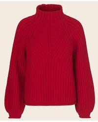 Stine Goya Red Oversize Sweater