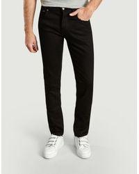 Nudie Jeans Organic Cotton Grim Tim Jeans - Black