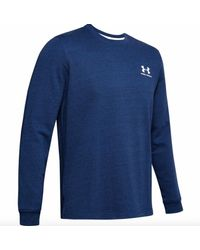 Under Armour Sportstyle Terry Men's Jersey - Blue