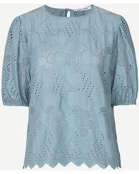 Samsøe & Samsøe Camicia juni ss 11455 - Blu