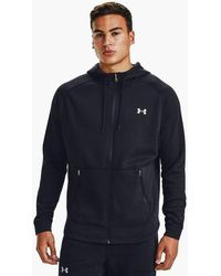 Under Armour Charged Cotton Fleece Full Zip Hoodie Black