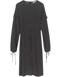 By Malene Birger Https://www.trouva.com/it/products/by-malene-birger-anamaria-dot-print-dress - Nero