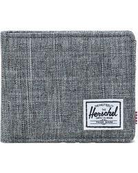 Herschel Supply Co. Raven Crosshatch Roy Wallet - Gris