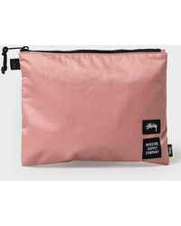 Herschel Supply Co. Https://www.trouva.com/it/products/herschel-supply-co-large-pink-rip-stop-network-canvas-bag - Rosa