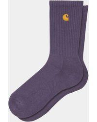 Carhartt Wip Chase Socks Provence - Purple