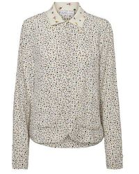 Vero Moda Vivi Floral Printed Shirt Birch - Multicolor