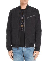 John Varvatos Https://www.trouva.com/it/products/john-varvatos-black-star-usa-quilted-bomber-jacket - Nero