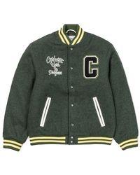 Carhartt Wip Pembroke Varsity Jacket Loden - Vert