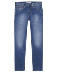 Tommy Hilfiger Https://www.trouva.com/it/products/tommy-hilfiger-jeans-scanton-slim-jeans-wilson-mid-blue-stretch