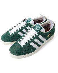 adidas Gazelle Vintage Collegiate Grün & Weiß Sneaker