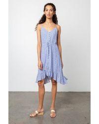 Rails Frida Dress Sky Blue Daisies - Bleu