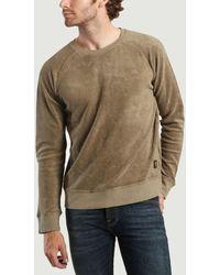 Nudie Jeans Samuel Terry Sweatshirt - Multicolour