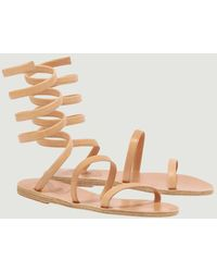 Ancient Greek Sandals - Sandales en cuir nappa Ofis - Lyst
