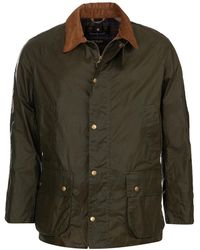 Barbour Lightweight Ashby Wax Jacket Archive Olive - Green