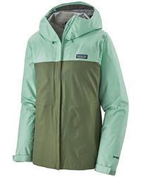 Patagonia Jacket Womens Torrentshell 3l Gypsum Green