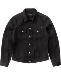 Nudie Jeans Billy Dry Black Jacket - Noir