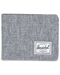 Herschel Supply Co. Raven Roy Crosshatch Wallet - Blue