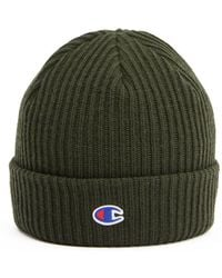 5d807398 Converse Beanie In Olive Con588 Medium Olive in Green for Men - Lyst