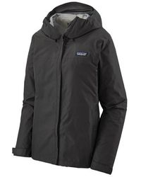 Patagonia Jacket Womens Torrentshell 3l Black
