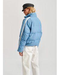 Essentiel Antwerp Light Blue Vupside Jacket