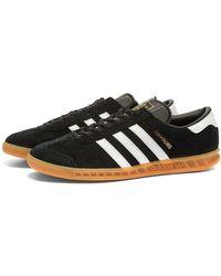 Hamburg Black, White & Gum Shoes