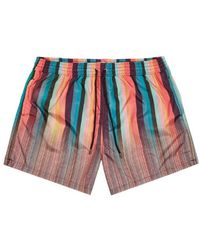 Paul Smith Swim Shorts Art Clash - Multicolour