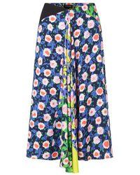 Stine Goya Https://www.trouva.com/it/products/stine-goya-lilah-flowermix-skirt - Blu