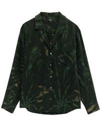 Rails Camisa con efecto tie dye de Rebel Silk Jungle - Verde