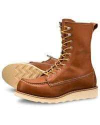 Red Wing 8'' Moc 3427 Oro Legacy Wmns Womens Boots - Brown