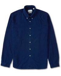 Oliver Spencer Camisa - Azul