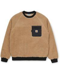 Carhartt Prentis Sweatshirt Dusty H Brown