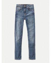 Nudie Jeans Mid Indigo Hightop Tilde Jeans - Blau