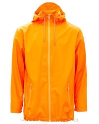 Rains Fire Orange Unisex Breaker Jacket