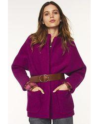 Ba&sh Cliff Violet Jacket - Purple