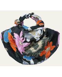 Stine Goya Kai Organza Bag Botanical - Multicolour