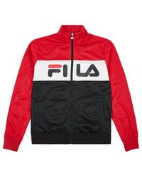 Fila Camisa Balin Track para hombre - Rojo