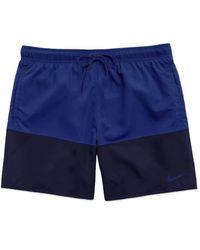 Nike Https://www.trouva.com/it/products/-split-panel-swim-shorts-navy-royal - Blu